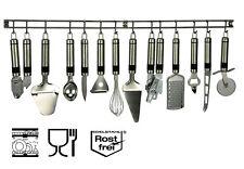 Edelstahl Küchenhelfer-Set Küchenhelfer Hängeleiste Küchenutensilien Kochzubehör