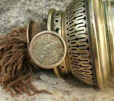 rare et ancienne bobèche de lampe a pétrole marquée bec l.r. apollon importé