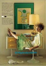 "Very RARE Vintage Anthropologie  ""La Femme En Vert"" Skirt 4"