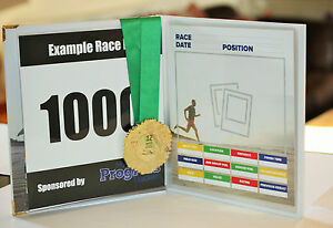 Runners Race Book A unique gift!