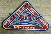 MONTREAL CANADIENS 44th ALL STAR GAME PATCH MONTREAL FORUM NHL HOCKEY PATCH