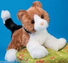 "MAPS Douglas plush 6"" CALICO stuffed animal CAT brown black white kitten"