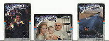 SUPERMAN THE MOVIE TRADING CARDS – 1978 - LOT OF THREE 3 – DRAKE CAKES