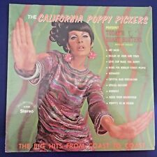SEALED-ROCK LP-California Poppy Pickers-TODAY'S CHART BUSTERS-ALSHIRE 12' Stereo