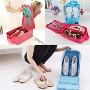 Zipper Shoe Bag for Travel Gym Sports School Dance Football Breathable Storage