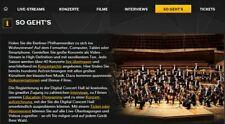 12 Monate Gutschein Digital Concert Hall