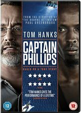 Captain Phillips (DVD, 2014) FREE SHIPPING