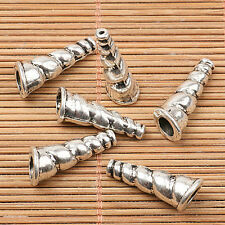 66pcs tibetan silver color shell design bead Ef2566