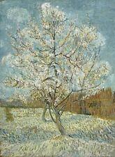 "vAN GOGH VINCENT - THE PINK PEACH TREE, 1888 - ART PRINT POSTER 14"" X 11""(1611)"