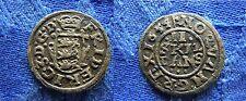 Rare date 1654 Denmark 2 skilling -Nice