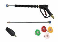 Pressure Washer 11.6mm Quick Release Trigger & lance M22M Wash/Turbo Nozzle 05