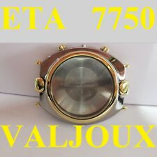 cassa crono veglia titanium valjoux 7750 eta automatic chronograph case watch