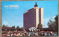 Old Postcard Unused, Garden Of Allah, Hotel Sahara, Las Vegas Nevada