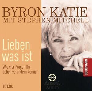 Byron Katie; Stephen Mitchell|Lieben was ist, 1 Audio-CD|Hörbuch
