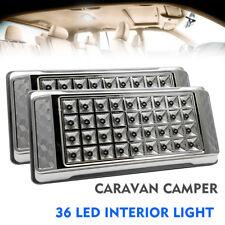 2PCS 12V 36 LED Lampe Plafonnier Panneau Spot LED Chambre Salon voiture Lumière