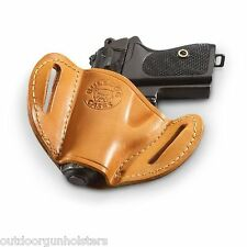 Ruger p-94, p-95, p-97, SR-9, p345 Leather Gun Holster OWB
