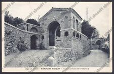 BRESCIA GARDONE RIVIERA 80 VITTORIALE D'ANNUNZIO Cartolina VIAGGIATA 1930