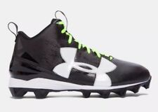 Under Armour UA Crusher RM Shoes Cleats Size 12 Black 1286599-001 Football