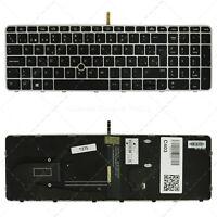 Spanish Laptop Keyboard for HP EliteBook 755 850 G3 G4 ZBook 15U G3 G4 Backlit