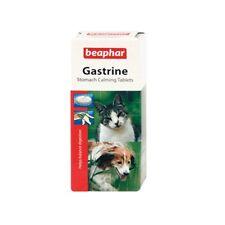 Beaphar Dog Cat Sensitive STOMACH CALMING TABLETS Relief Gastrine Magnesium 30pc