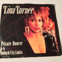 "TINA TURNER - Private Dancer / Nutbush City Limits - 7"" 45RPM Vinyl Record - EX"