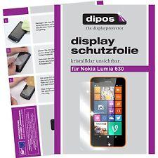 2x dipos Nokia Lumia 630 Protector de Pantalla protectores transparente