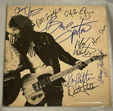 """BRUCE SPRINGSTEEN Born To Run """"SIGNED BY BAND"""" - LOA Included - Read Description"""