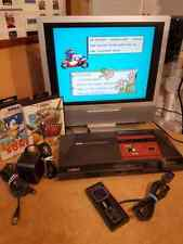 Original Sega Master System Console Bundle + 50/60Hz Switchless + Dual Boot Bios