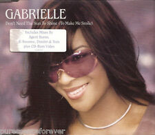 GABRIELLE - Don't Need The Sun To Shine (UK 5 T Enh CD Single Pt 1)