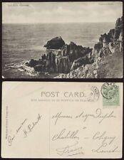 GB GUERNSEY KE7th 1907 PPC...1/2d...ST SAMPSONS CDS