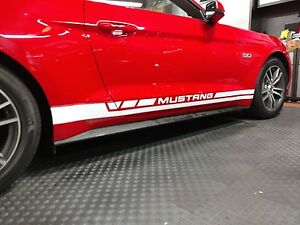Ford Mustang 2015, 2016, 2017, 2018, 2019, 2020 Rocker Panel Decals NICE!