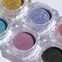 Holographics Nail Powder Glitter Holo Nail Art Decoration  Chrome Pigment Tips