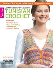 Ultimate Beginner's Guide to Tunisian Crochet New Paperback Book Kim Guzman