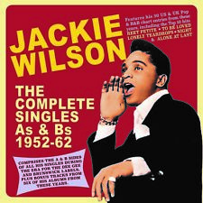 JACKIE WILSON New Sealed 2018 As & Bs SINGLES 1952 - 62 2 CD SET
