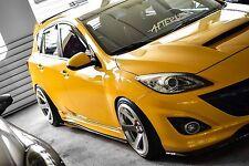 ON SALE!!! 2010 - 2013 Mazdaspeed3 Side extension / side splitter