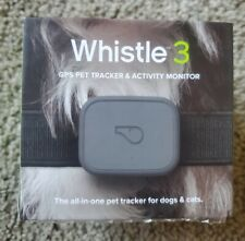 Whistle 3 GPS Pet Tracker and Activity Monitor In Original Box Manual Charger