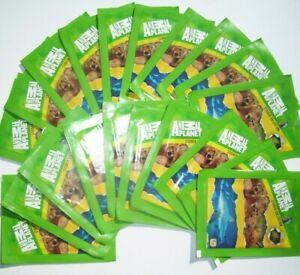 ANIMAL PLANET 20 x PACKS STICKER COLLECTION - 5 STICKERS PER PACK NEW SEALED