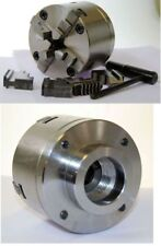 80 mm 4 Jaw Self Centering Lathe Chuck threaded 1 1/2 x 8 tpi to suit Boxford