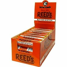 Reed's BUTTERSCOTCH Candy Rolls are back! Box of 24