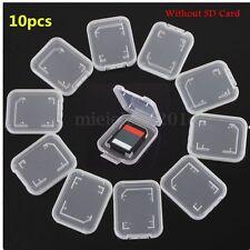 10stück Standard SD MMC Etui Hülle Card Case Speicherkarte BOX Aufbewahrung