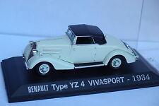 ALTAYA RENAULT TYPE YZ 4 VIVASPORT 1934 1/43