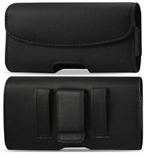 LEATHER BELT CLIP LOOP HOLSTER HOLDER POUCH CASE FOR SAMSUNG GALAXY CELL PHONE