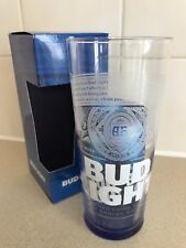 Bud Light Electric Blue Official B/New Pint Glass 2017 Design BOXED
