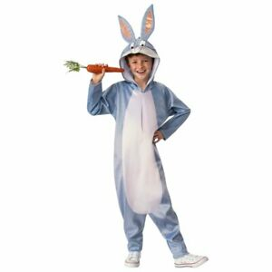 Looney Tunes Bugs Bunny Halloween Costume Unisex Child Small Medium 4-10