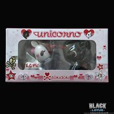 NEW RARE Tokidoki Valentines Day 2017 Unicorno 2-Pack Love White Black