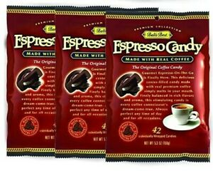 Pack of 3 - Bali's Best Coffee Espresso Candy 5.3oz