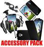 7x Paquete de accesorios kit para Samsung Galaxy S4 i9500 FUNDA SOPORTE COCHE