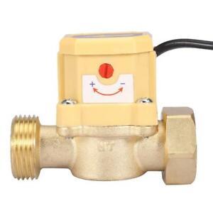 /4-/4 Wasserdurchfluss Schalter Durchflusssensor Wasserpumpe Steuerung 220V✿