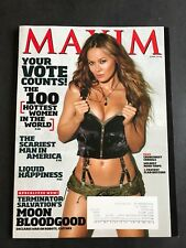 Maxim Magazine June 2009 Moon Bloodgood