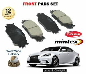 FOR LEXUS IS250 IS300H HYBRID 2013 > NEW FRONT BRAKE DISC PADS SET